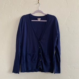 🌹Mossimo Navy Button Up Cardigan